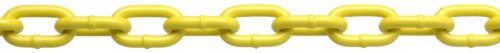 ystem 3 Grade 30 Low Carbon Steel Proof Coil Chain on Reel, Yellow Polycoated, 3/16