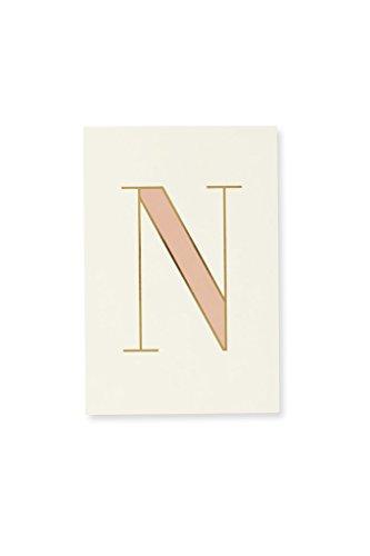 Kate Spade New York Initial Notepad (N)