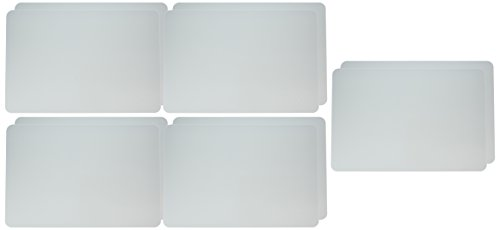 School Smart Dry Erase Pupil Boards, 12 x 18 Inches, Melamine, White, Pack of 10 (Dry Erase Board 12 X 18)
