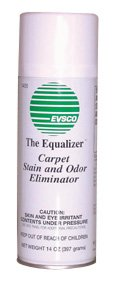 12 pack Equalizer Carpet Stain and Odor Eliminator (20 oz) by Evsco Pharmaceuticals