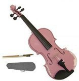 GRACE 14 inch Pink Viola with Case and Bow + Free Rosin