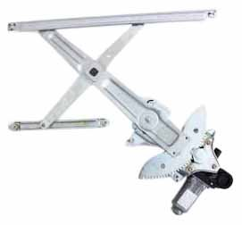 TYC 660132 Scion XB Front Driver Side Replacement Power Window Regulator Assembly with Motor