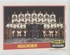 Colorado Rockies Team (Hockey Card) 1980-81 Topps - Team Pin-Ups #12
