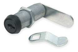 Disc Tumbler Cam Lock, Keyed Alike, Blk