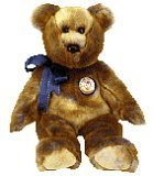 1 X Ty Beanie Buddies - Clubby Bear III