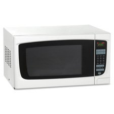 """Electronic Microwave Oven, 1.4 Cubic Feet, 21-3/4""""W x 18""""D x"""