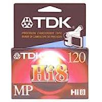 TDK MP120 Hi-8 Video Cassette (Discontinued by Manufacturer)