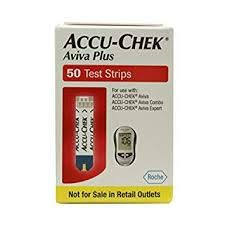 Accu-Chek Aviva Plus 50 Test Strips (Accu Chek Aviva Plus Nfr Test Strips)