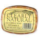 Clearly Natural - Glycerine Soap Bar Vitamin E - 4 oz. by Cl