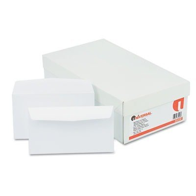 - Universal Business Envelope, Contemporary, #6, White, 500/Box (35206) by Universal