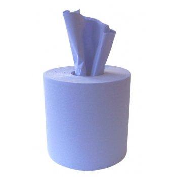 GP Globe Packaging 24 Azul 2 Capas Con Elieve Dispensación Central Papel Rollo De Toallas: Amazon.es: Hogar