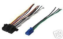 Stereo Wire Harness OEM Buick Roadmaster 91 92 93 94 (car radio wiring instal. ()