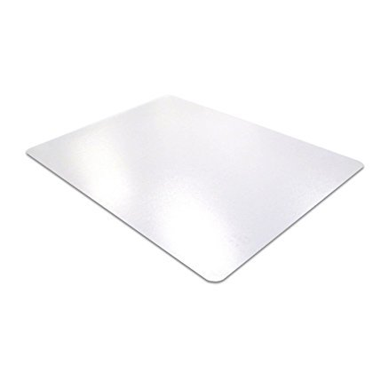 GOOD ACTIVE PVC Smooth Back Desk Mat 20 x 36 Rectangular Clear (Fast Delivery)