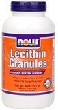 Lecithin Granules Non-GMO Mega Pack, 10 lb, NOW Foods