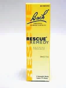 Natural Stress Reliever - Bach Flower Rescue Remedy Natural Stress Reliever 20 Ml (3 Pack)