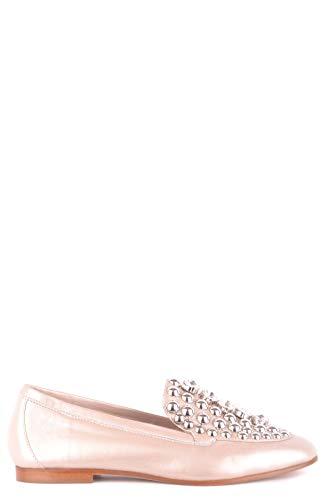 Ninalilou Mocassini Pelle Oro Mcbi495015o Donna Xrf0qFxwf