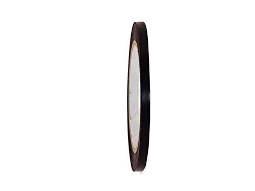 GGR Supplies T.R.U. CVT-536 Black Vinyl Pinstriping Dance Floor Tape: 1/4 in. wide x 36 yds. Several Colors