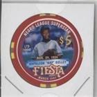 1996 Casino (Nap Gulley #/1,000 (Baseball Card) 1996-98 Fiesta Casino $5 Poker Chips - [Base] #NAGU)