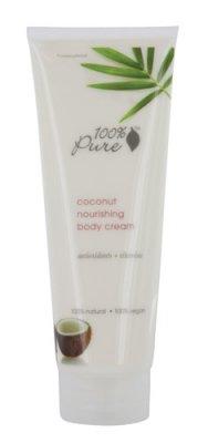 100% Lotion hydratante organique pure du corps, noix de coco vierge, 8 oz