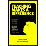 Teaching Makes a Difference by Cummings,Carol. [1992,3rd Edition.] Paperback