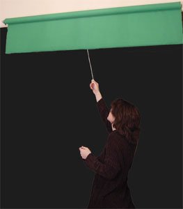 5'X8' Chromakey Green (Kelly) Rollup Background System NEW COLOR LOT!