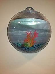 Wrapables fish bubble wall mounted acrylic for Fish bowl amazon