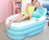 NEW Fashion Adult SPA Inflatable Bath Tub with Air Pump -