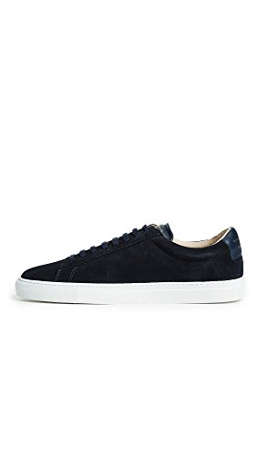 Zespa Mens Zsp4 Mocka Sneakers Marinblå / Vit