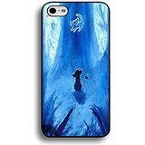 Case Shell Fantastic Blue Pattern Disney Cartoon The Lion King Phone Case Cover for Iphone 6 / 6s ( 4.7 Inch ) Anime (Special Effects Scars)