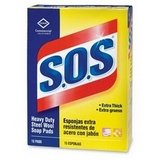 Clorox 88320 S.O.S Steel Wool Soap Pad