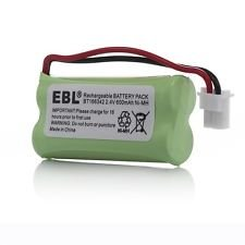 AT&T EL52213 Battery - Replacement for AT&T Cordless Phone Battery (800mAh, 2.4V, NI-MH)