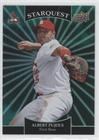 Albert Pujols (Baseball Card) 2009 Upper Deck - Starquest - Emerald Super Rare #SQ-1 (Emerald Card Single Rare)