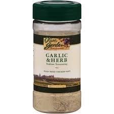 Olive Garden, Garlic & Herb Italian Seasoning, 4.5oz Bottle (Pack of 3) by Olive Garden