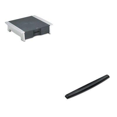 KITFEL8032601FEL9178201 - Value Kit - Fellowes Printer/Fax Machine Stand (FEL8032601) and Fellowes Memory Foam Keyboard Wrist Rest (FEL9178201)