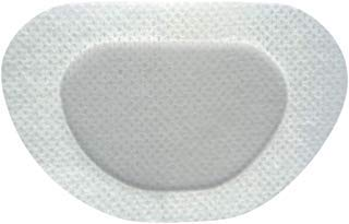 See Worthy White (Blank) Adhesive Kids Eye Patches, Innovative Shape, Smart Adhesive Technology, Breathable Material and New Shape, (48 per Box) (Regular Size)