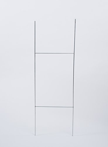 """30""""Hx10""""W Steel Wire Stake """"H"""" Frame quantity of 50, fits..."""