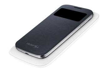 Samsung Galaxy S4 S-View Flip Cover w/ Wireless Charging