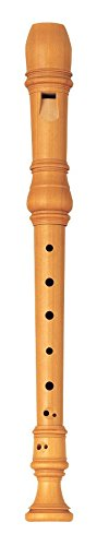 Yamaha YRS-61 Handcrafted Castello Wood, Key of C Soprano Recorder with Baroque Fingering