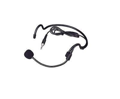 FidgetGear Headset headworn microphone for Wireless microphone with 3.5mm male screw jack from FidgetGear