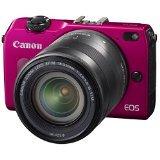 Canon ミラーレス一眼カメラ EOS M2 red レッド ボディ