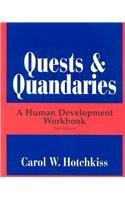 Quests & Quandaries: A Human Development Workbook