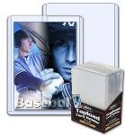 BCW 1-TLCH-BK 3 X 4 Topload Card Holder Black