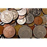 Silver Mexican Coin Set - 5 Pounds of World Coins - Approximately 500-800 Coins