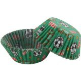 Standard Baking Cups -Soccer 50/Pkg