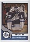 3rd Hockey Jersey - 2013-14 Third Jersey (Hockey Card) 2013-14 St. John's IceCaps Team Issue - [Base] #NoN