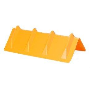 DC Cargo Mall Yellow Vee Board Trailer Cargo Load Corner Edge Protector and Truck Tie-Down Strap Guard Bumper Cushion, 8\' x 8\' x 24\' 8 x 8 x 24