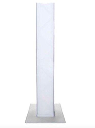 Embroze 5 Foot (4.92 feet / 1.5 meter) WHITE Totem/Lighting Truss Stand Scrim Cover Sleeve Sock (4.92ft) (Truss Sleeve)