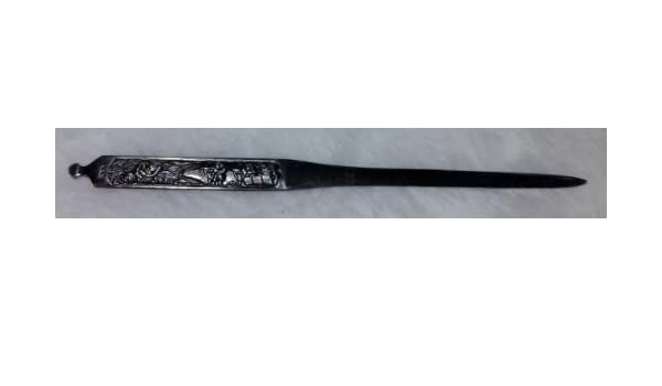 Amazon.com : Antiqued Style Letter Opener with Battle Scene ...