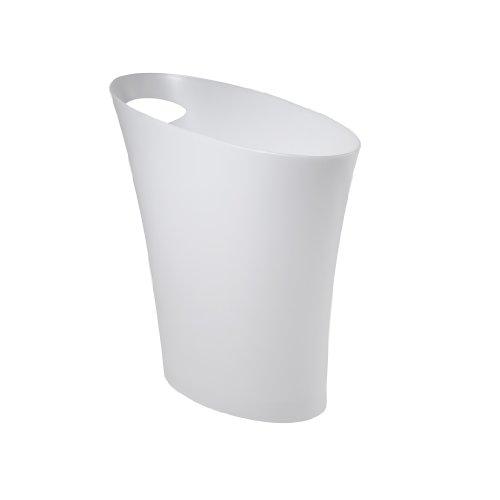 Umbra skinny trash can sleek stylish bathroom trash can import it all - Umbra mini trash can ...