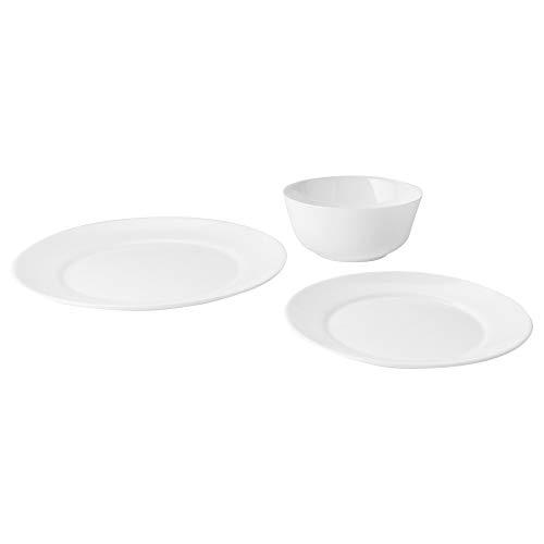 IKEA 903.461.58 Samtidig 12 Piece Dinnerware Set, White
